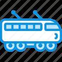 electric, suburban, train
