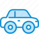 car, compact, transport icon