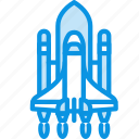 launch, rocket, ship icon