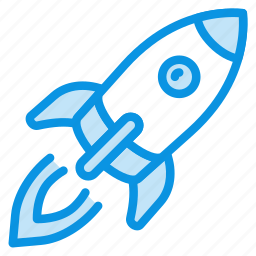 cosmos, launch, rocket, ship, space, start, transport icon