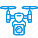camera, drone, flying icon