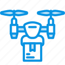 airdrone, delivery, drone icon