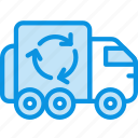 garbage, recycle, transport icon