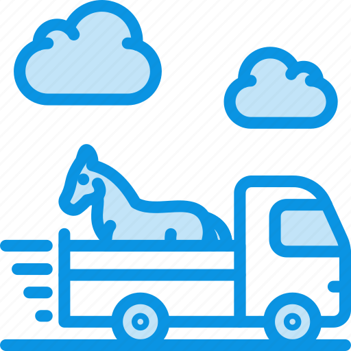 animal, delivery, transport icon
