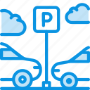 car, parking icon