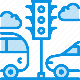 bus, car, light, traffic, transport, vehicle icon