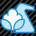 cotton, mixed, synthetics icon