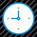 clock, delayed, start, timer