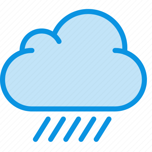 cloud, cloudiness, cloudy, overcast, rain, weather icon