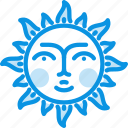 day, fable, face, fairy, sun, sunny, tale icon