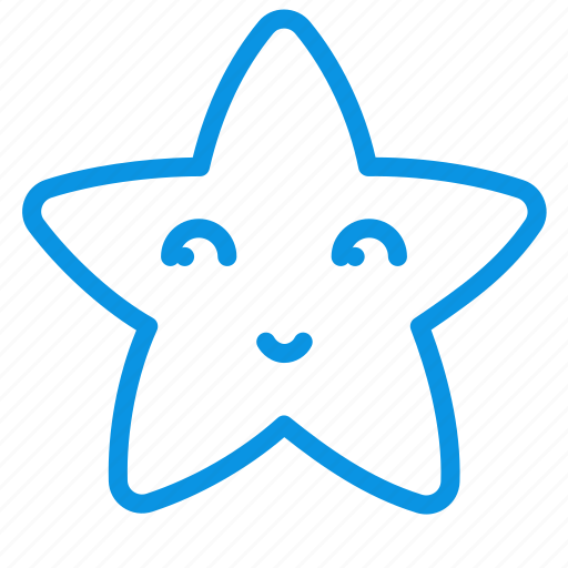 fable, face, star icon