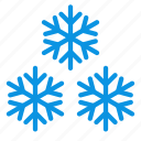frost, snow, snowflakes icon