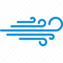 blowing, breeze, direction, weather, wind icon