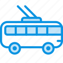 transport, trolley icon