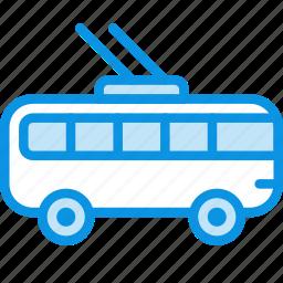 transport, trolley icon