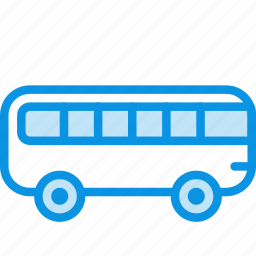 autobus, bus, transport, vehicle icon