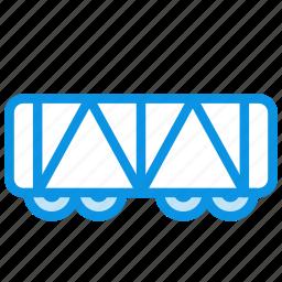 railroad, vehicle, wagon icon