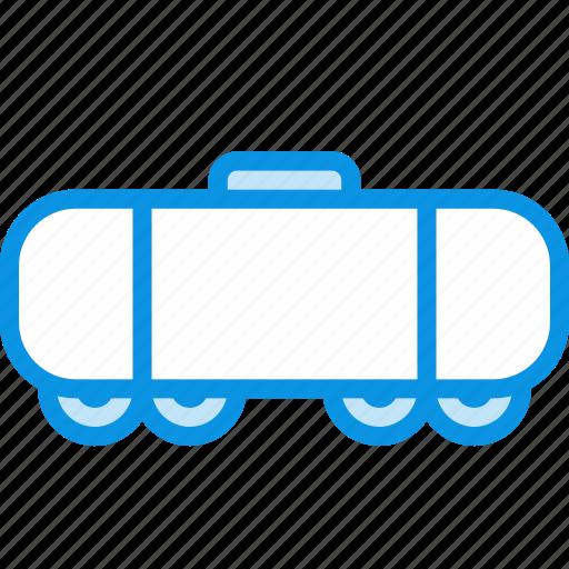 cistern, railroad, wagon icon