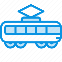 railroad, tramway, transport, vehicle icon
