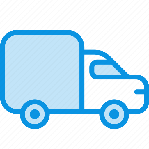 delivery, logistic, transport, truck, vehicle icon