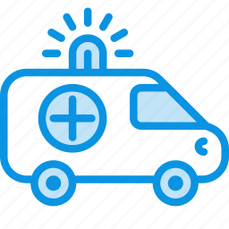 ambulance, car, medical icon