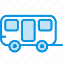 trailer, transport, wagon icon