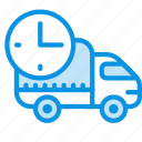 car, delivery, logistic, rush, transport icon