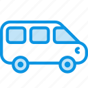 minivan, vehicle icon