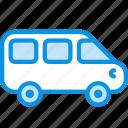 car, minivan, vehicle icon