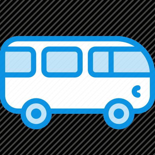bus, car, combi, van, vehicle icon