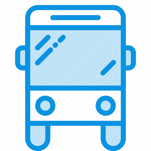 autobus, bus, sign, transport icon