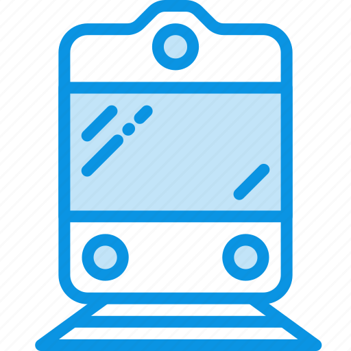 sign, train, transport icon