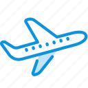 airplane, flight, plane, takeoff, transport icon
