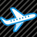 flight, plane, takeoff