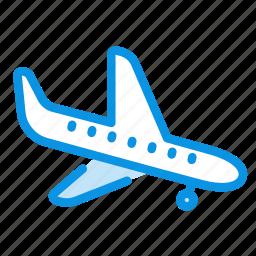 airplane, flight, landing, plane, transport icon