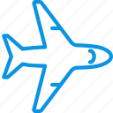 airplane, airport, flight, plane, sign, transport icon