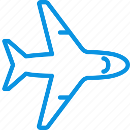 airplane, airport, flight, plane, sign, transport icon
