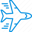 flight, plane, transport