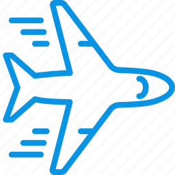 airplane, flight, flying, plane, transport icon