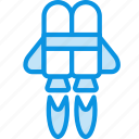 flight, jetpack icon