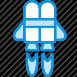 flight, jetpack icon