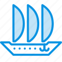 sailfish, ship icon