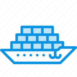 cargo, ship, tanker icon