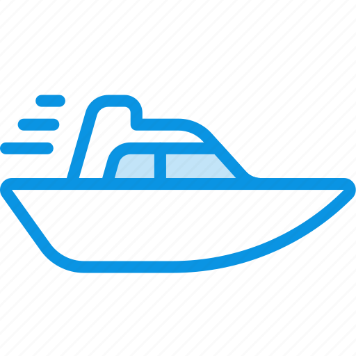 boat, speed, vessel, yacht icon