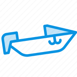 boat, motor, speed icon