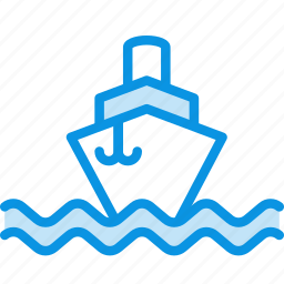 ship, sign, steamship, vessel icon