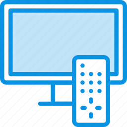 device, entertainment, remote, settings, television, tv, watch icon