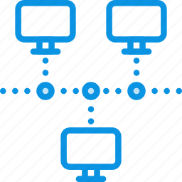 computer, connect, connection, internet, network, servers icon