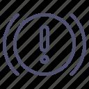 brake, car, system icon