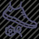 grass, lawn, prohibited, walk icon